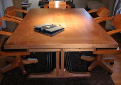 שולחן משרדי מעץ אשה