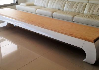 """שולחן סלון באורך 350 ס""""מ"""