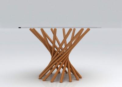 """שולחן """"דוקים"""""""